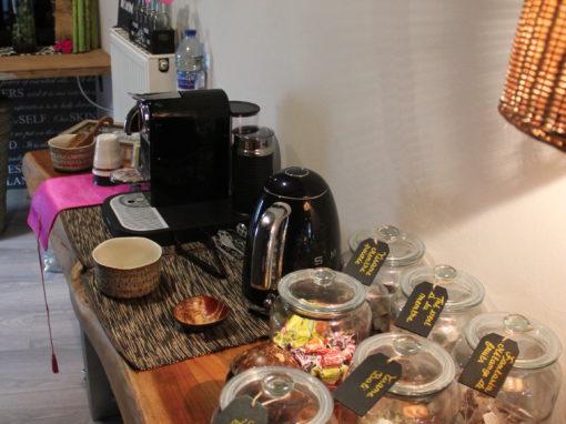Espace thé/café